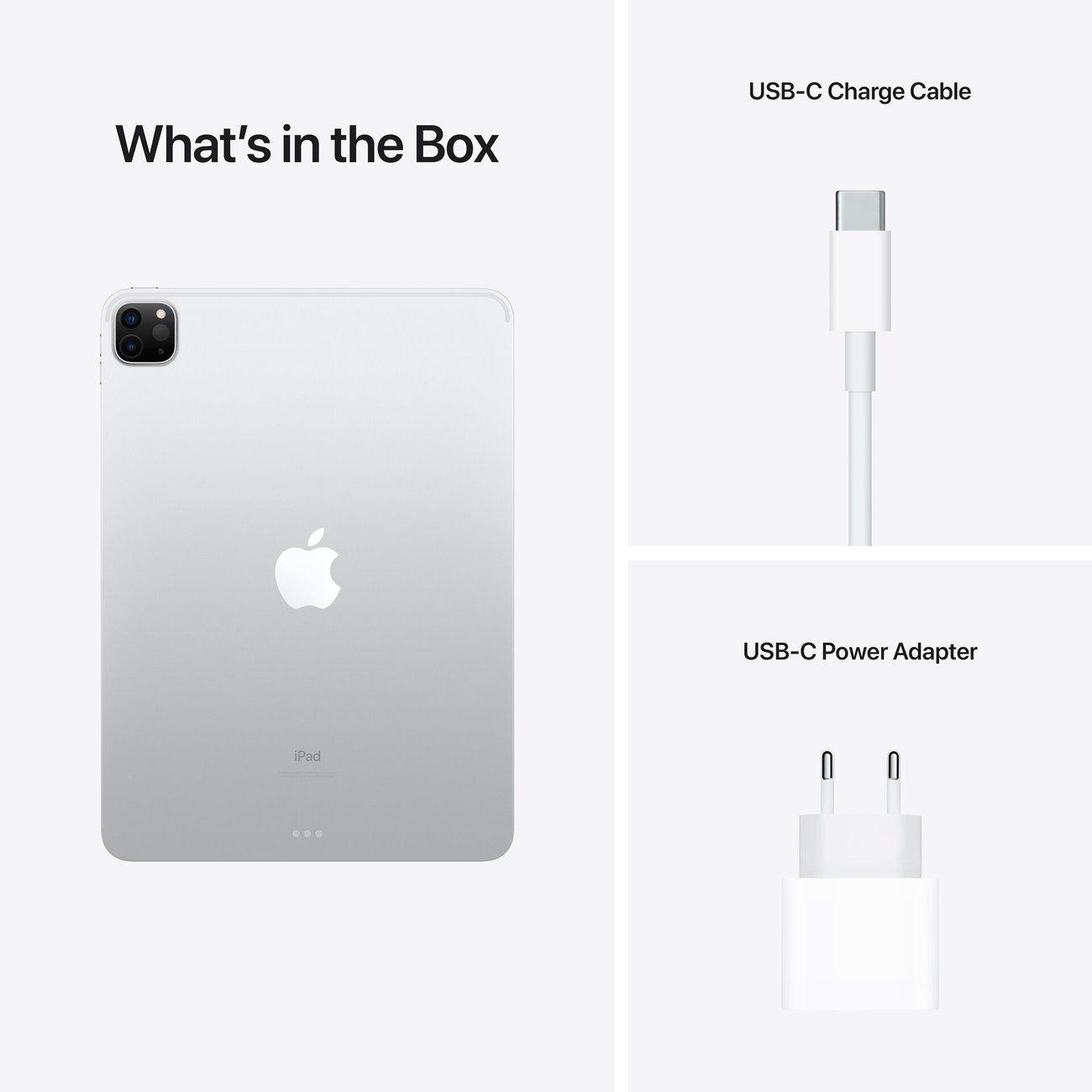 "Таблет Apple iPad Pro 12.9"" (5th) Cell 1TB Silver mhrc3 , 1000 GB, 16 GB"