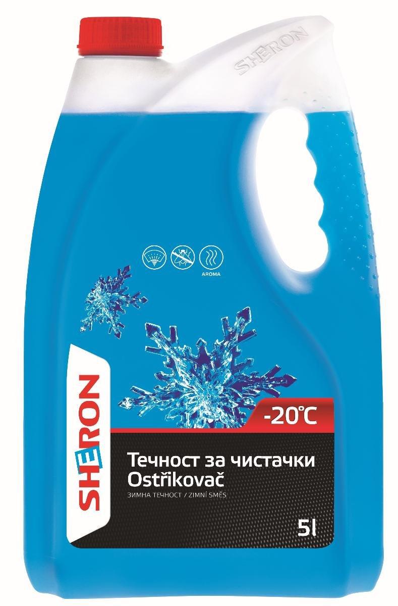 ЗИМНА ТЕЧНОСТ ЗА ЧИСТАЧКИ SHERON -20 5Л
