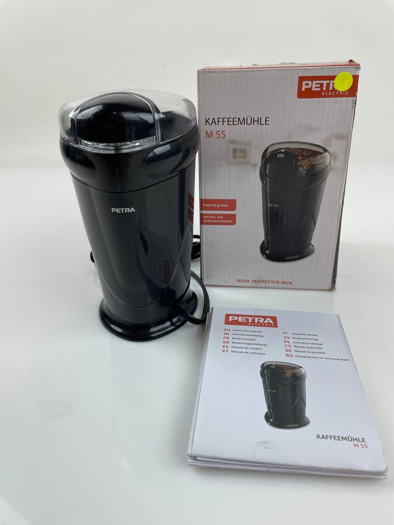 Кафемелачка Petra Electric M 55 ел мелница за кафе подправки