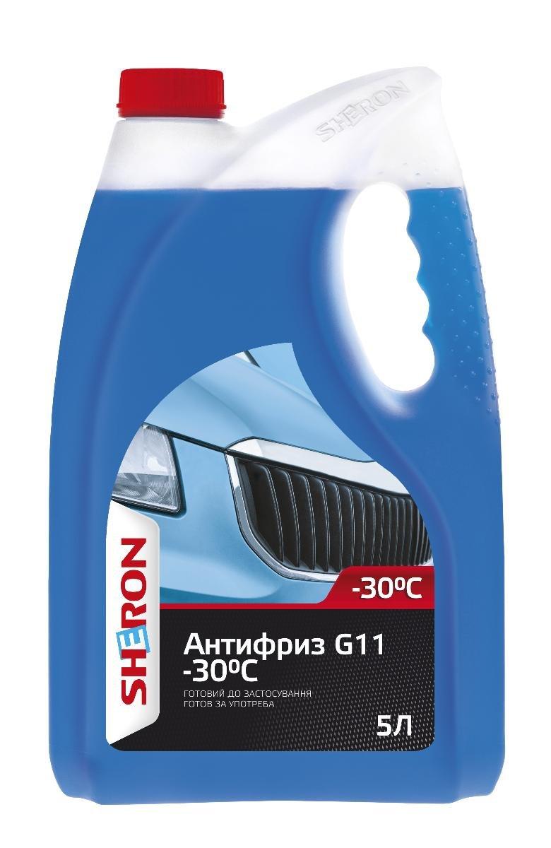 АНТИФРИЗ SHERON G11 -30С 5Л СИН