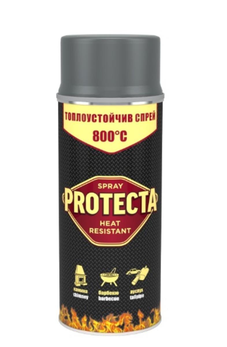 PROTECTA ТОПЛОУСТОЙЧИВ СПРЕЙ СИВ 400млPR