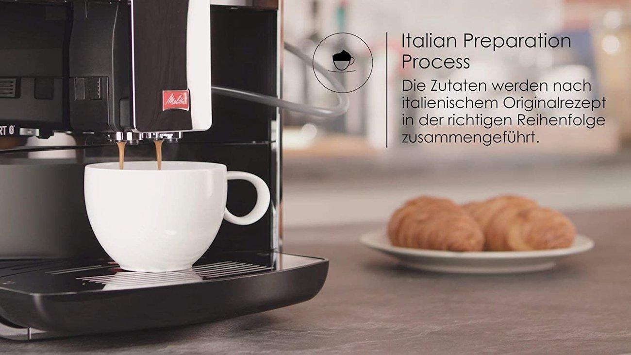 Автоматична кафемашина Melitta Caffeo Barista TS Smart F850-102 кафе автомат кафеавтомат