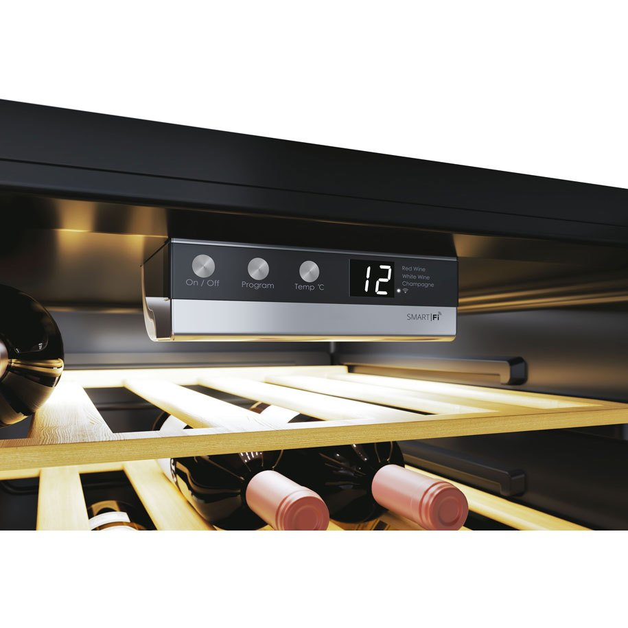 Хладилна витринa&виноохладител CANDY CWC 200 EELW/N  146.00 см, 39 dB