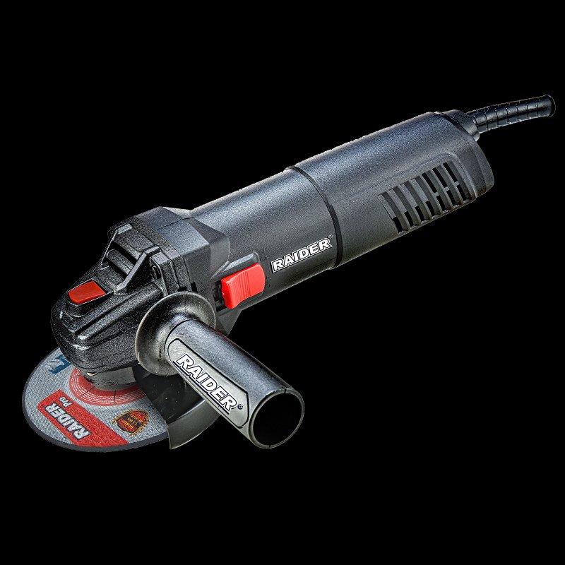 Ъглошлайф Raider RDP-AG43 Black edition 910W
