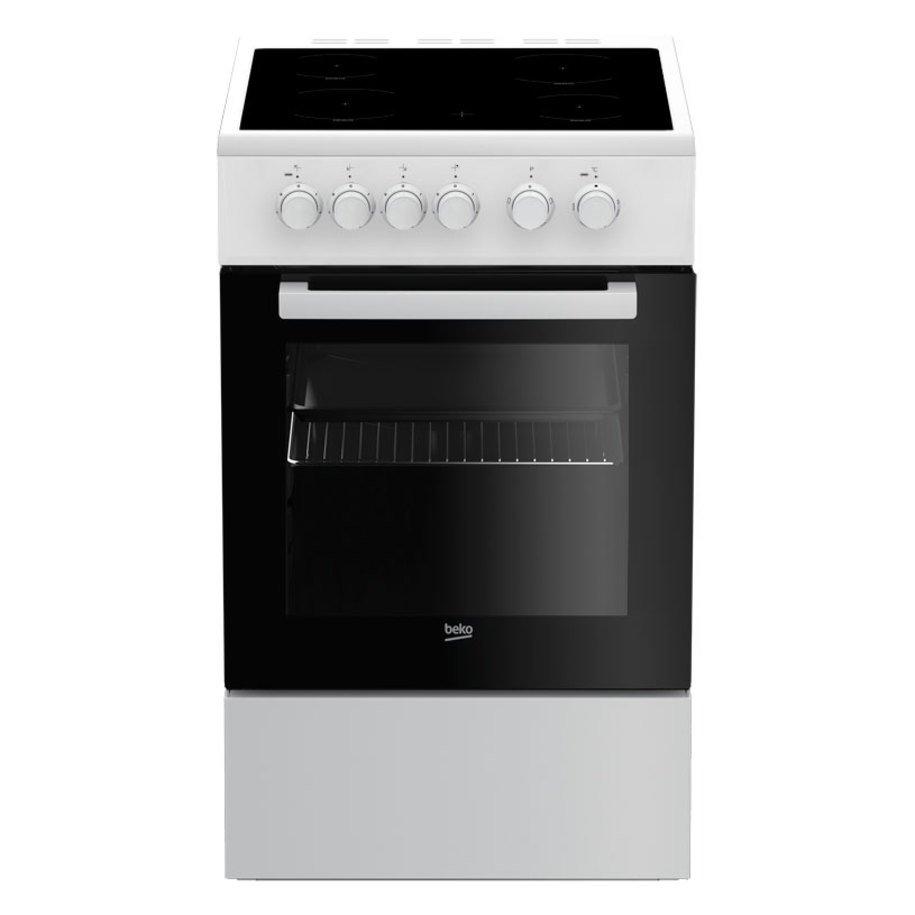 Готварска печка BEKO FSM 57000 GW  Керамични, A, 55 L