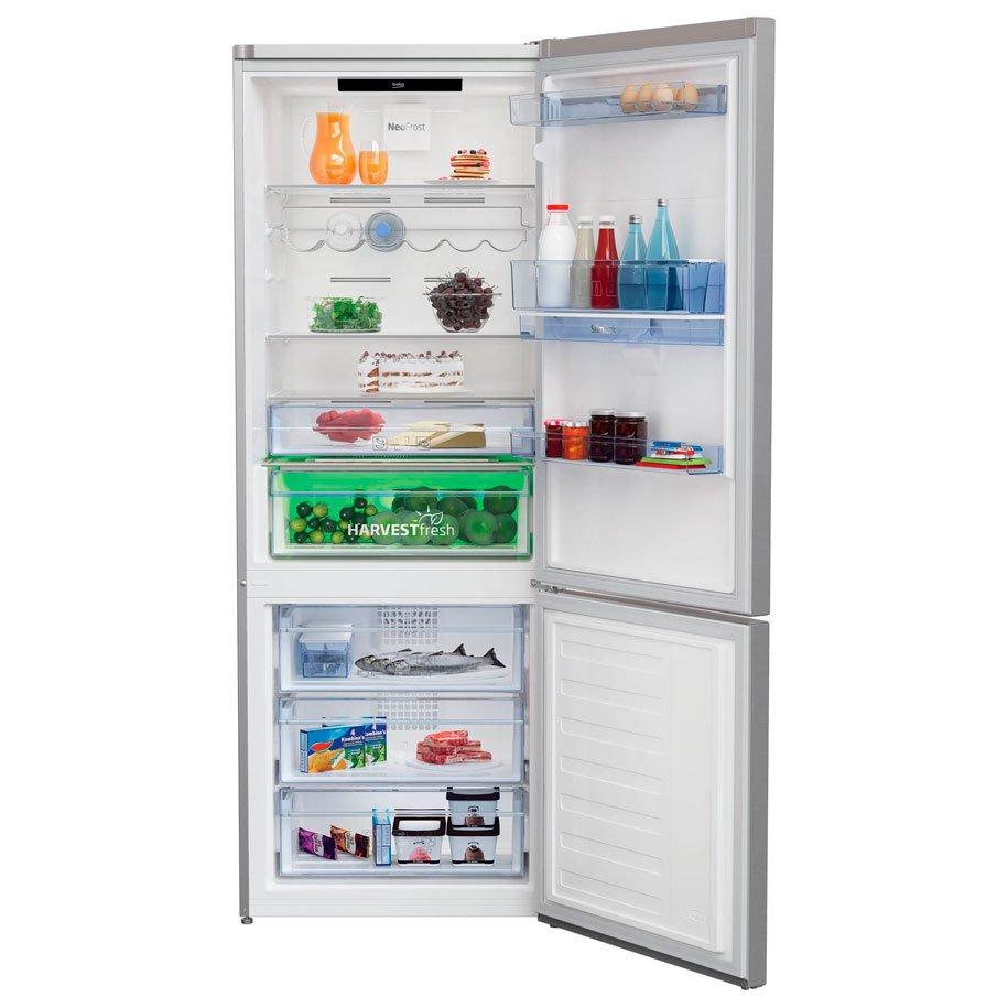 Хладилник с фризер BEKO RCNE 560 E40 DZXBN  192.00 см
