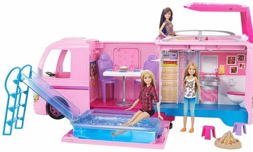 Кемпер на Барби Mattel Barbie FBR34 за кукли кукла