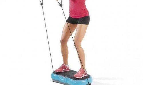 Вибриращ фитнес уред VITALmaxx спортен уред за тре