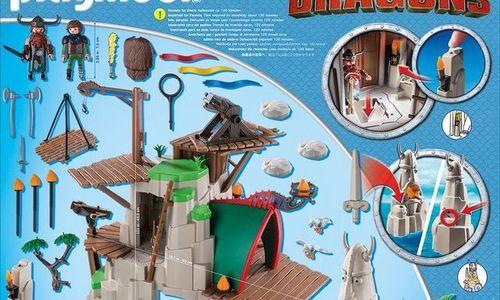 Детски конструктор Playmobil 9243 Berk Dragons Дра