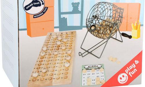Метално бинго с дървени топчета Legler Bingo Small