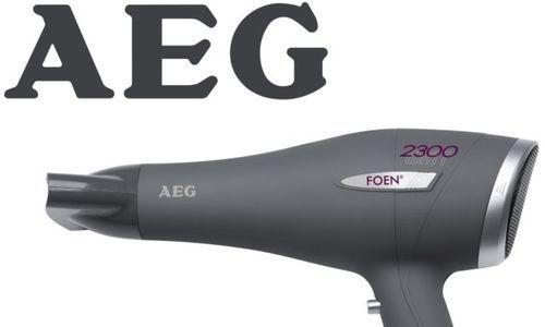 Сешоар AEG HT 5580 мощен 2300 W изсушаване горещ в