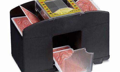 Машина за разбъркване на карти Relaxdays автоматич