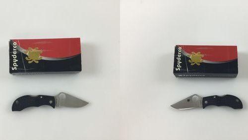 Сгъваем Нож Spyderco Manbug MBKP VG-10 с малко ост