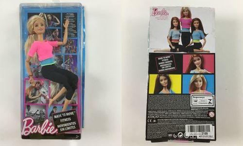 Барби гимнастичка Mattel Barbie DHL82 кукла барби