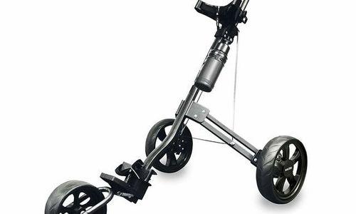 Количка за голф аксесоари Longridge Golf Tri Cart