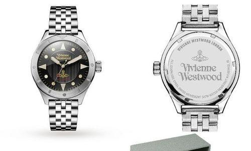 Часовник Vivienne Westwood VV160BKSL 5 bar аналого