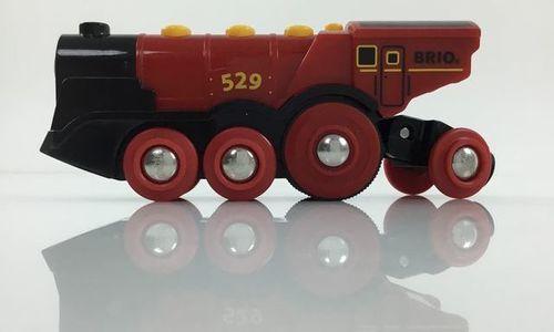 Електрически локомотив Brio 33592 Mighty red loco
