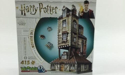 3D пъзел Wrebbit 61359 Harry Potter The Burrow Wea