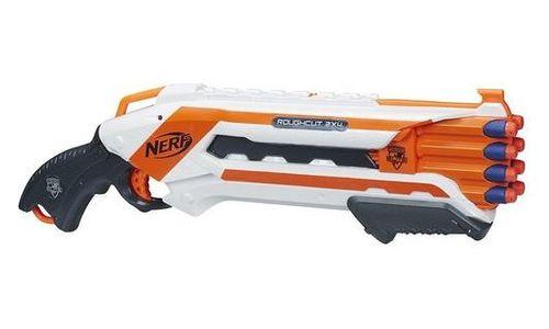 Двуцевен пистолет Hasbro Nerf-N Strike Rough Cut 2