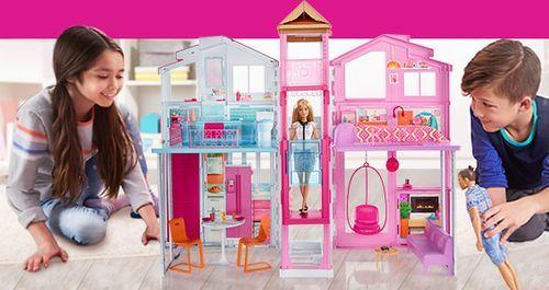 Къщата на Барби Малибу Mattel Barbie DLY32 къща за