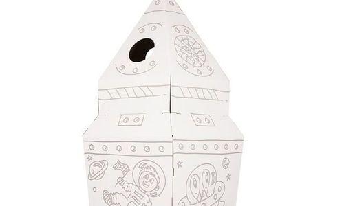 Детска къща Ракета Small Foot 10018 картонена къща