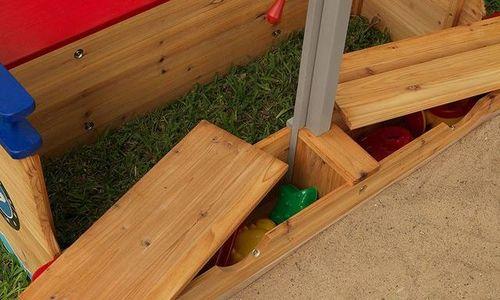 Детски пясъчник Kidkraft 00128 дървен пясъчник с п