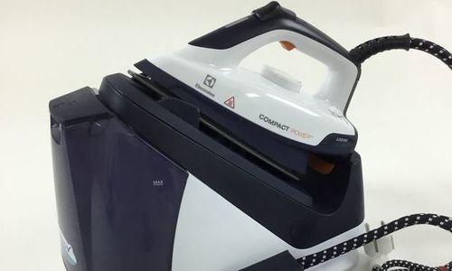 Парогенераторна ютия Electrolux EDBS7135 Compact P
