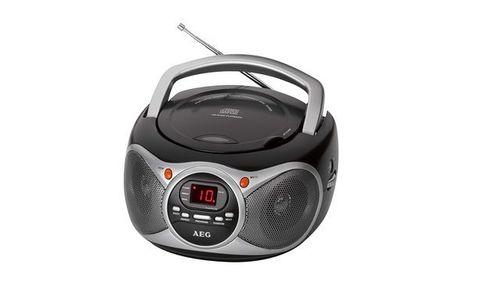 Портативна музикална система AEG SR 4351 CD радио