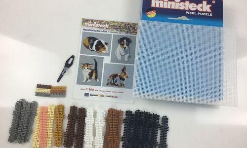 Детски конструктор Ministeck 31330 4в1 мозайка