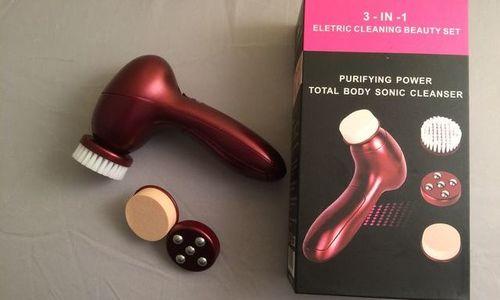 Уред за почистване на лице и грим 3 в 1 Electric C