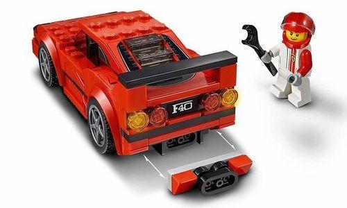 Конструктор Lego 75890 Ferrari F40 Лего Ферари кол
