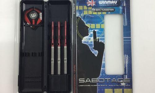 Стрели за дартс Winmau Sabotage 90% волфрам 23 гра