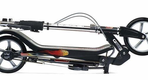 Тротинетка с ръчна спирачка Space Scooter X 580 ES
