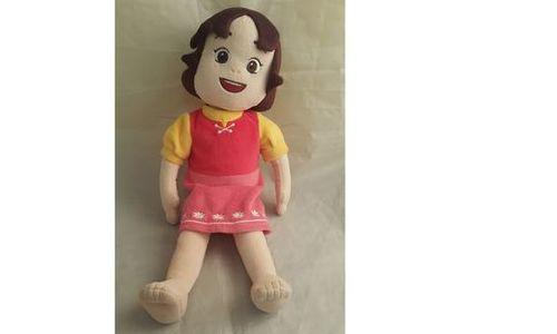 Детска кукла 40 см мека кукла бебе текстил плюшена