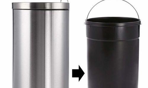 Метален кош за отпадъци с механизъм 30 л 64 x 29