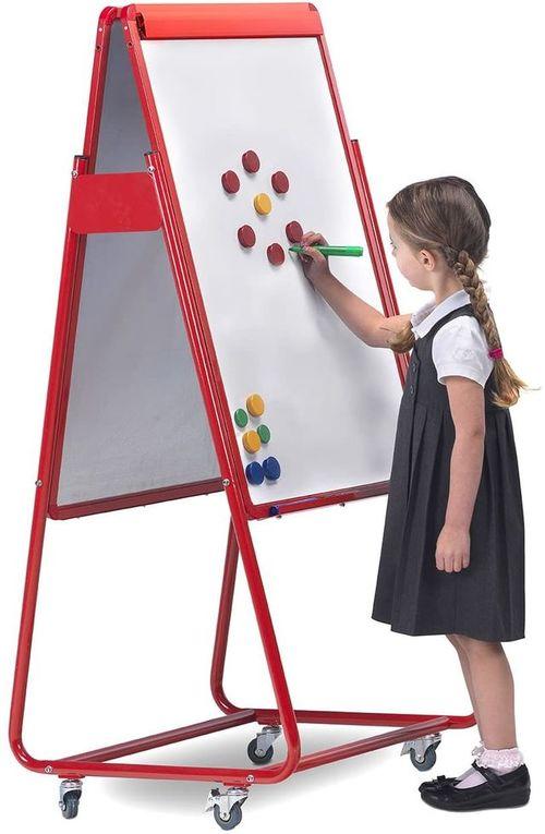Детска Голяма бяла магнитна дъска за рисуване Spac
