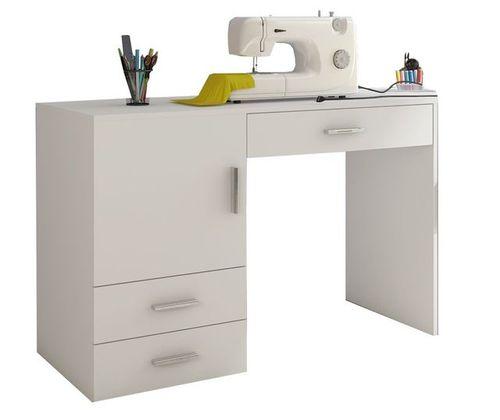 Дървено бюро BECO M11030-WEI шкаф маса с чекмедже