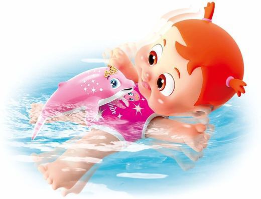 Кукла Бени и Бони плувай с делфин Simba Bouncin