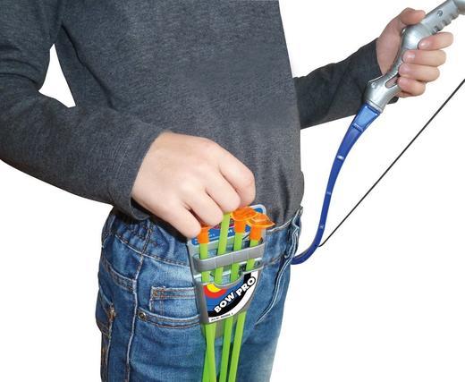 Детски лък Jamara 460304 4 стрели поставка оръжие