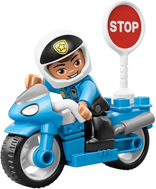 Конструктор Lego Duplo 10900 Лего Полицейски мотоц