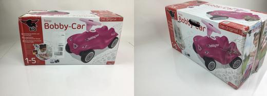 Детска количка BIG Bobby Car 800056164 розова избу