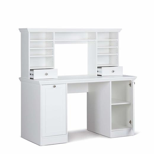 Бюро с надстройка LandWood 1736 етажерка шкаф поли