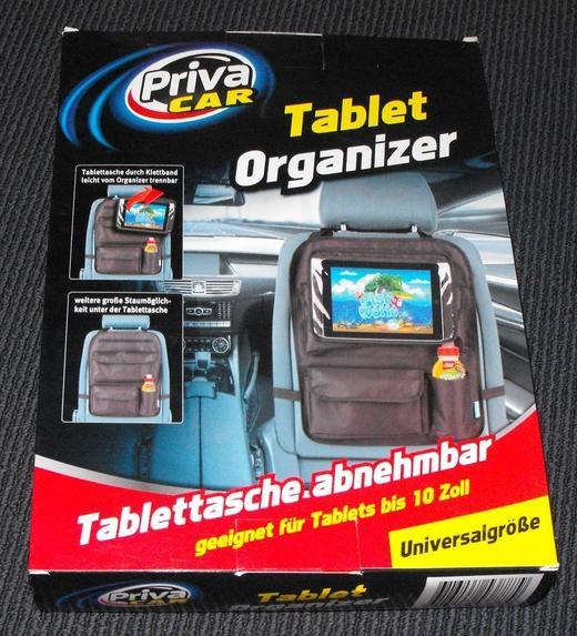 Органайзер за кола Priva Car протектор за седалка