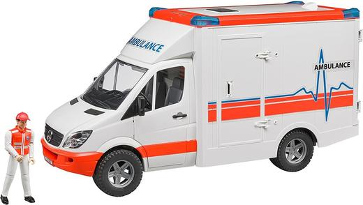 Линейка Bruder 02536 Mercedes Benz Sprinter светли