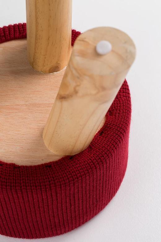 Табуретка SO LIVING Pouf с плетена седалка стол