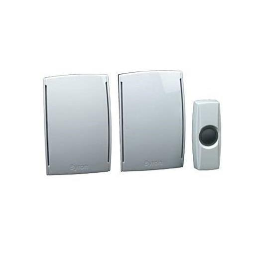 Безжичен двоен звънец за хводна врата Byron By533