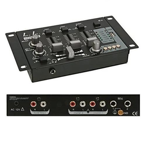 Дигитален миксер HQ Power PROMIX50U смесителен пул