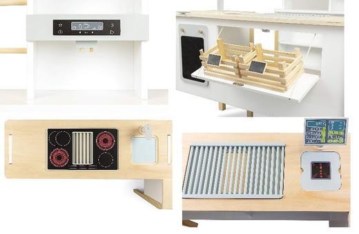 Детски дървен магазин и кухня 2в1 Small Foot 11436