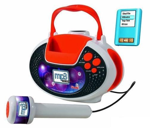 Детски микрофон със стойка Simba My Music World по