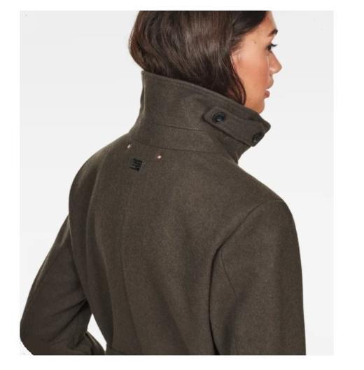 Дамско вълнено палто G-STAR Empral Wool Trench